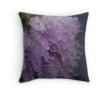 Chive Abstract  Throw Pillow