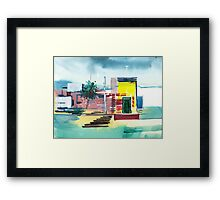 Abstract Reality Mix 1 Framed Print