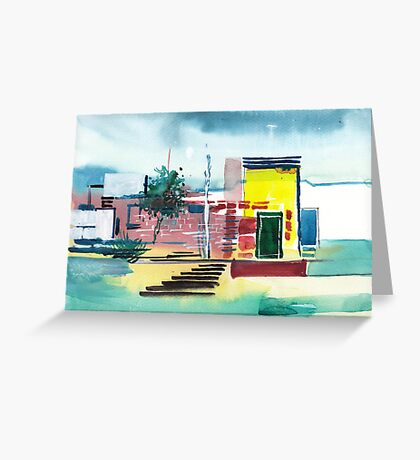 Abstract Reality Mix 1 Greeting Card