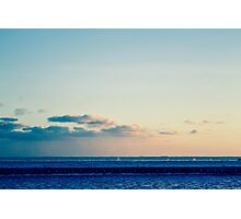 parallel clouds  Photographic Print