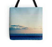 parallel clouds  Tote Bag