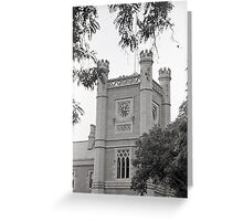 Clock—Government House Tasmania Greeting Card