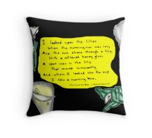 The Lily & The Bee Throw Pillow