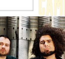 coheed and cambria the color before the sun Tour 2016 4 Sticker