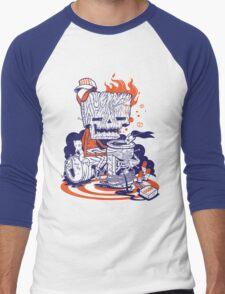 SHACKLES Men's Baseball ¾ T-Shirt