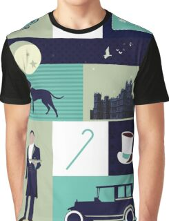 Downton Abbey - Collage Graphic T-Shirt