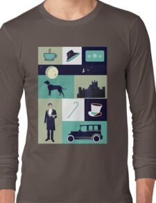 Downton Abbey - Collage Long Sleeve T-Shirt