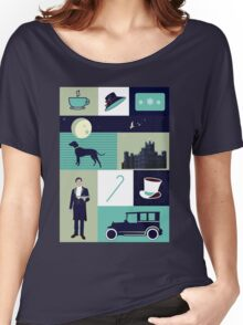 Downton Abbey - Collage Women's Relaxed Fit T-Shirt