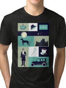 Downton Abbey - Collage Tri-blend T-Shirt