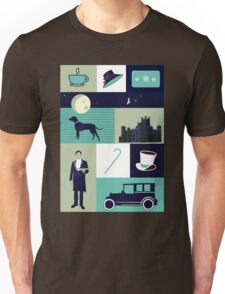 Downton Abbey - Collage Unisex T-Shirt