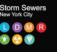 Storm sewers house of mutants by Budi Kwan