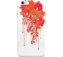 Painted tiger iPhone Case/Skin