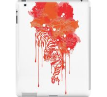 Painted tiger iPad Case/Skin