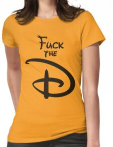 The D Womens Fitted T-Shirt