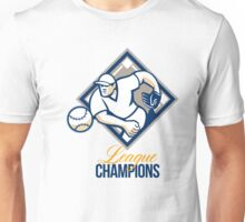 Baseball Pitcher League Champions Unisex T-Shirt