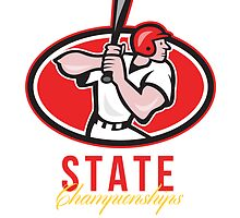 Baseball Player State Championships by patrimonio