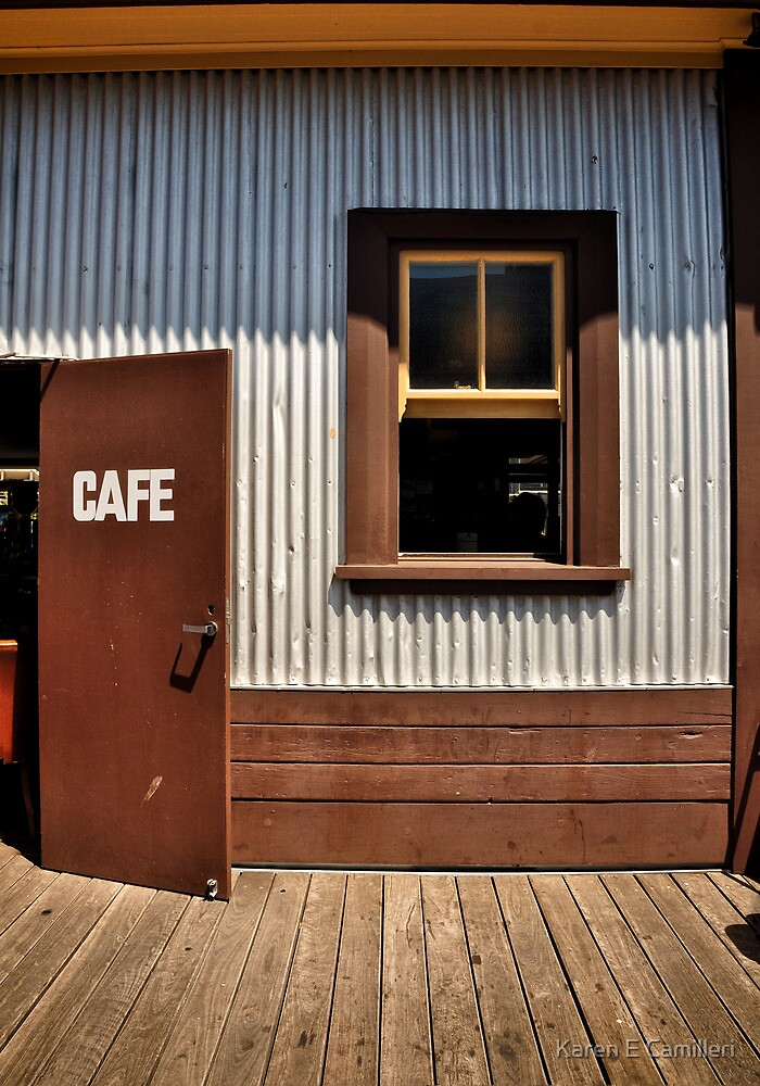 Wharf Cafe by Karen E Camilleri