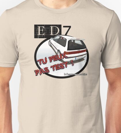 DLEDMV Tu peux pas test T-Shirt