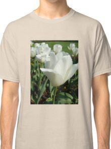 White tulips, delicate tulips.... Classic T-Shirt