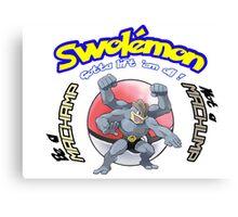 Pokemon - Be a Machamp Canvas Print