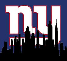 New York Silhouette Giants by AbsoluteLegend
