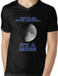 That's No Space Station Mens V-Neck T-Shirt