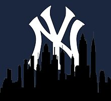 New York Silhouette Yankees by AbsoluteLegend