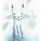 Water Fox by doodleby