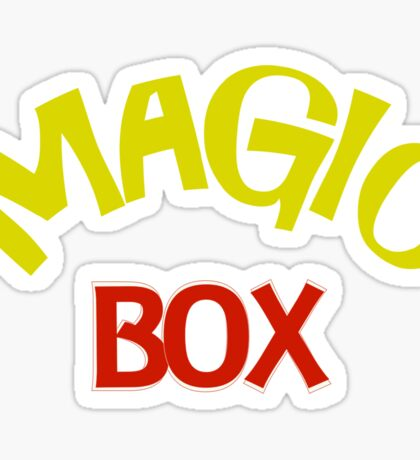 Magic Box - Buffy the Vampire Slayer Sticker
