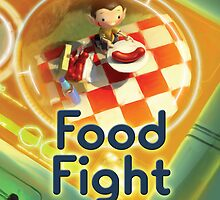 Food Fight poster by Glenn Melenhorst