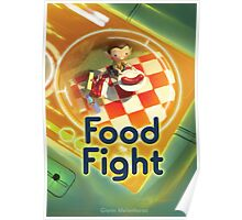 Food Fight poster Poster