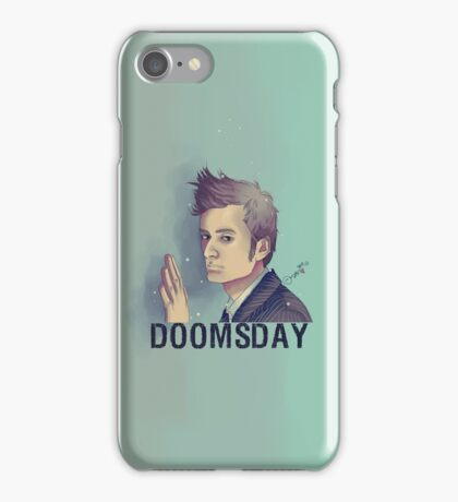 DOOMSDAY - Doctor Side iPhone Case/Skin