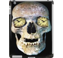 Time Skull iPad Case/Skin