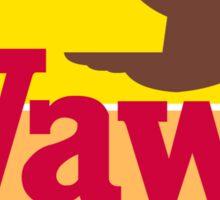 Wawa: Ojibwe for Goose Sticker