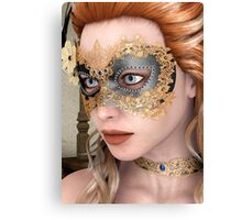 Masquerade Mask Canvas Print