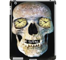 Time Skull2 iPad Case/Skin