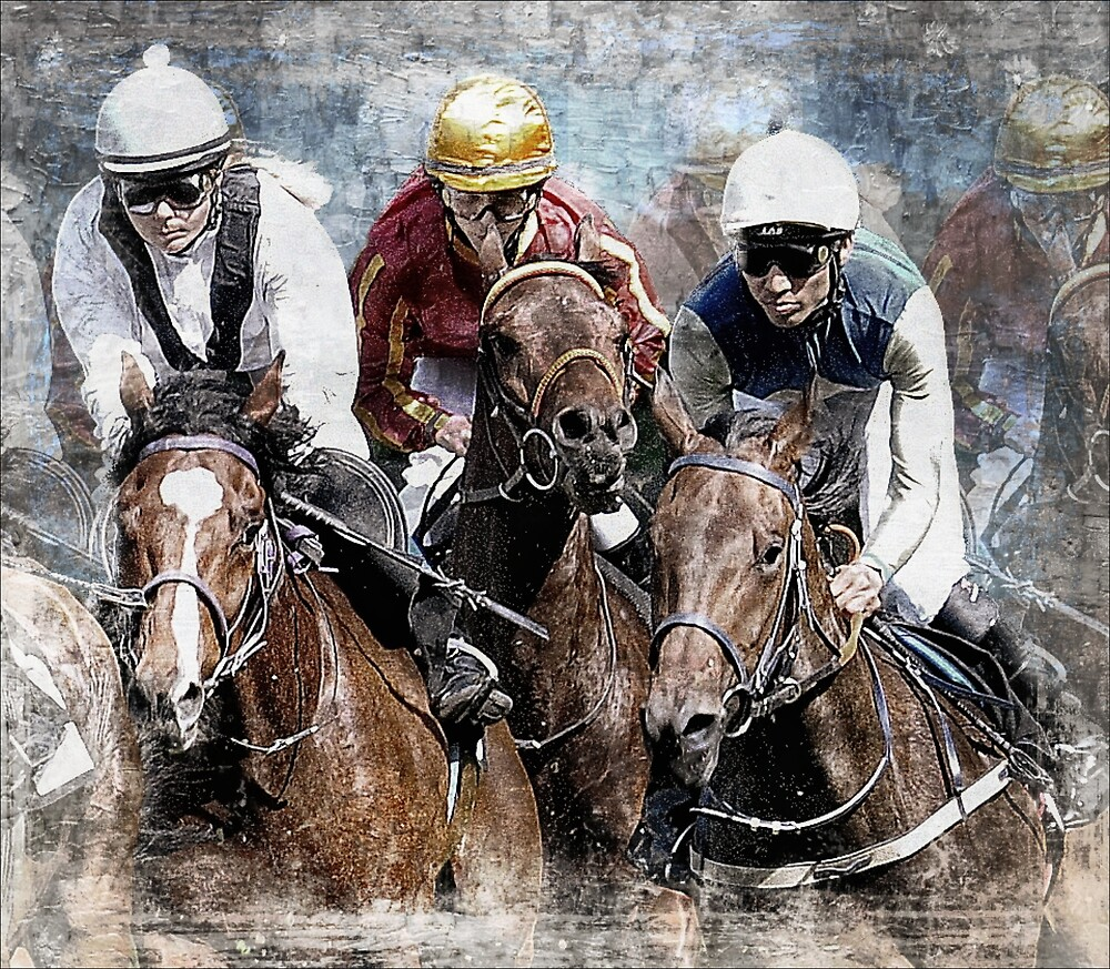 A close run by Alan Mattison