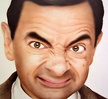 Mr. Bean by juccu