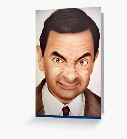 Mr. Bean Greeting Card