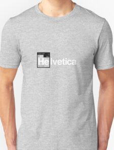 Helvetica Periodic Logo 1 (in black and white) T-Shirt