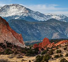Pikes Peak Panorama by Gregory Ballos | gregoryballosphoto.com