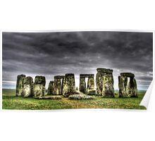 Stonehenge England Poster