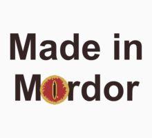 Made in Mordor by Kirdinn