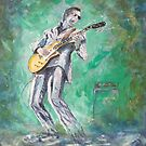 Joe Bonamassa singin' the blues by Joe Trodden