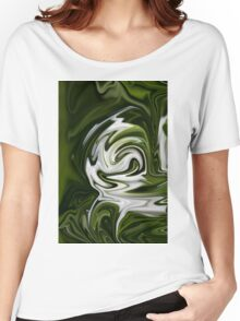 Snowdrop Abstract Women's Relaxed Fit T-Shirt