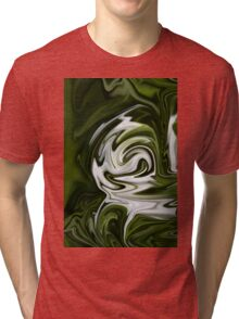 Snowdrop Abstract Tri-blend T-Shirt