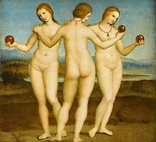 The Three Graces by Raphael by TilenHrovatic