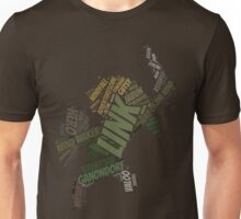 Toon Link Wordle  Unisex T-Shirt