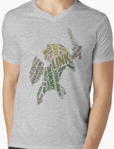 Wordle Toon Link 2 Mens V-Neck T-Shirt