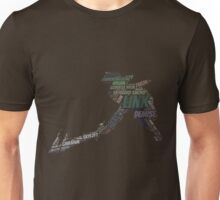 Wordle Skyward Link 2 Unisex T-Shirt